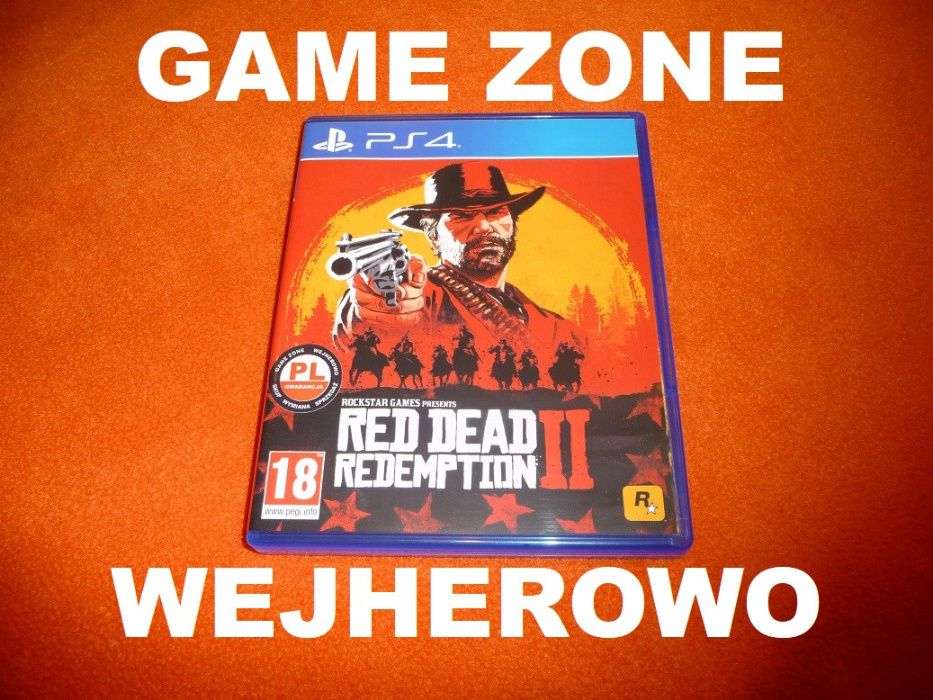 Red Dead Redemption 2 PS4 + Slim + Pro = PŁYTA PL Wejherowo Wejherowo - image 1