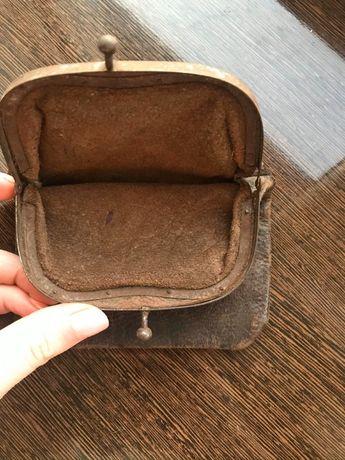 старовинне портмане гаманець