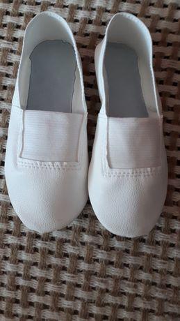 Чешки белые балетки