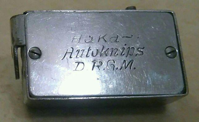 SPRAWNY Samowyzwalacz HAKA Autoknips D.R.G.M. Zabytek Antyk
