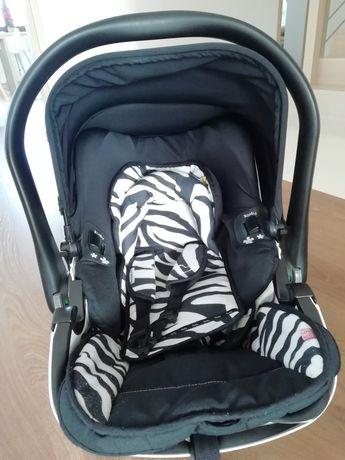 Fotelik-nosidełko kiddy evolution pro2-zebra