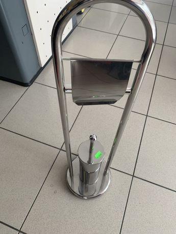 Conjunto wc porta rolo e escova