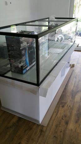 Akwarium nowe 150x60x60 540 l alu ramka
