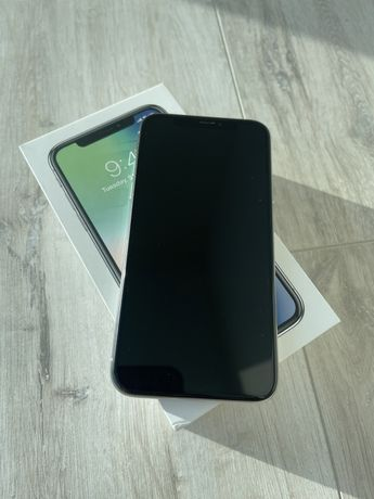 iPhone X 10 Silver 256 GB, айфон 10 Х