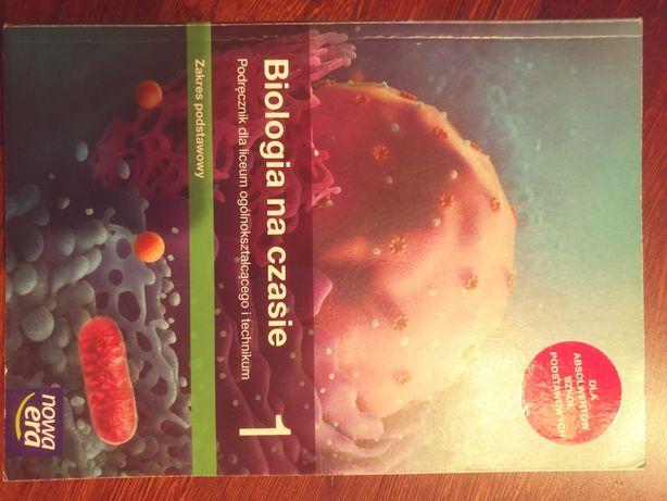 Książka do biologii 1 liceum po szkole Podstawowej