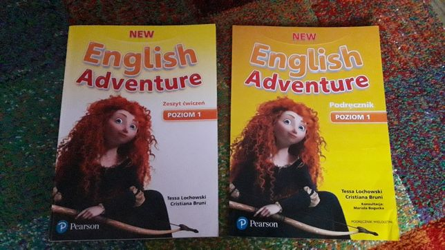 Podręcznik +ćwiczenia język angielski.  Nowe.  Klasa 1