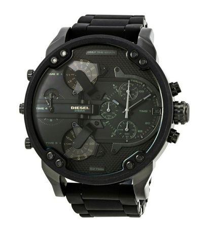 Oryginalny, czarny zegarek męski Diesel DZ7396