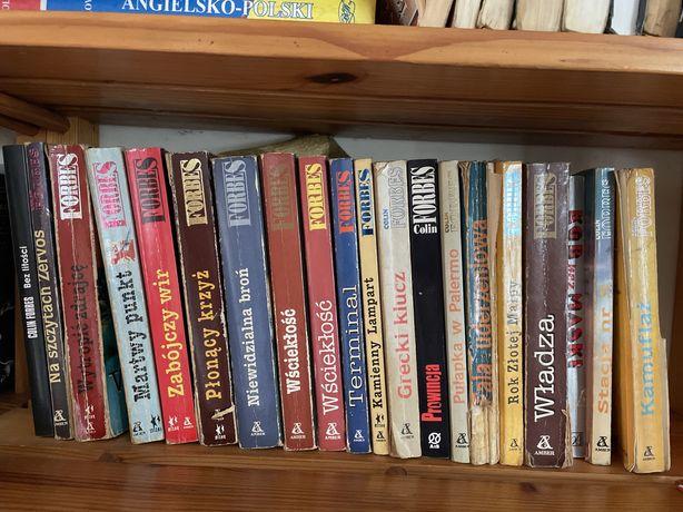 Colin Forbes 20  tomów zestaw ksiáżki sensacyjne