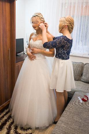 Sprzedam Piękną Suknię Ślubną:) PRINCESSKA