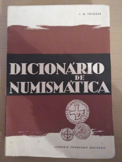 """""""Dicionário de Numismática"""" de José Folgosa"""