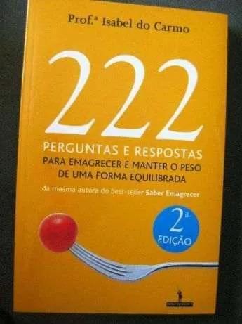 222 Perguntas e Respostas para Emagrecer e Manter Peso Forma Saudável