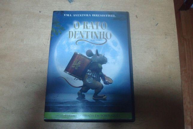 dvd original o rato dentinho raro