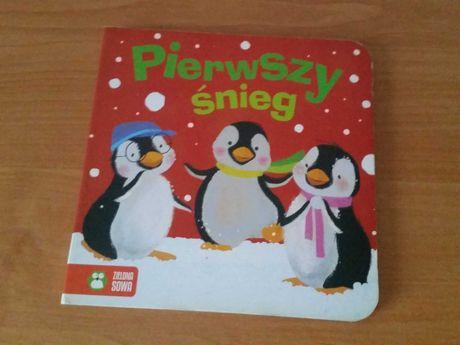 Pierwszy śnieg Zielona Sowa książeczka dla dzieci
