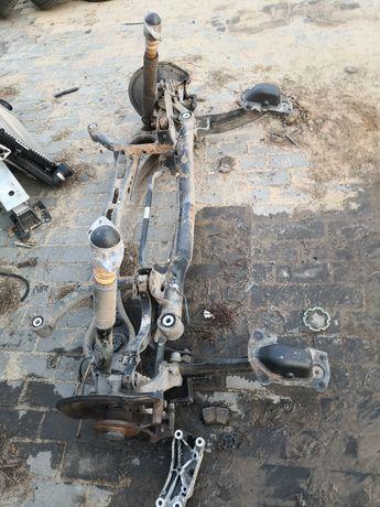 Vw Passat B6 Tylny wózek Sanki Tył