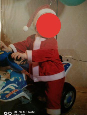 Костюм Деда Мороза Нового года, Гнома на 1 2 года Можно прокат 100грн.