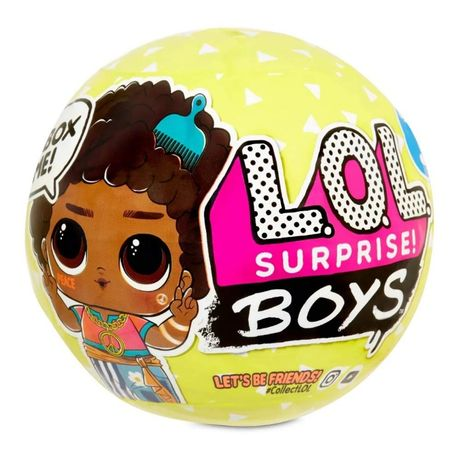 Набор-сюрприз LOL Лол Surprise S3 Мальчики, оригинал MGA