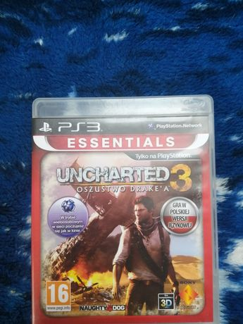 Sprzedam grę uncharted 3 na PS3.