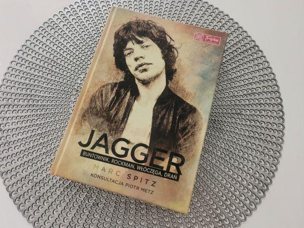 Książka Jagger Buntownik Rockman Włóczęga Drań Mark Spitz Biografia