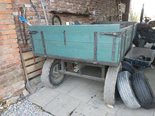 Wóz konny pod ciągnik