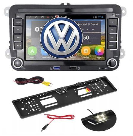 RADIO 2 DIN 10 Android VW Golf V VI 5 6 PASSAT B6 B7 Tiguan Touran