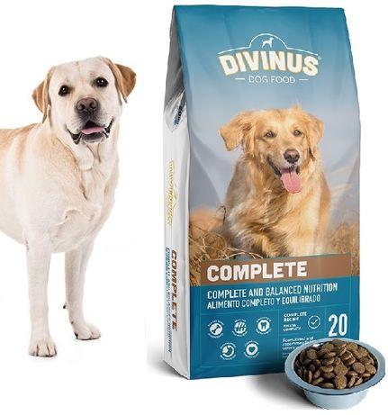 Karma dla psa DIVINUS COMPLET dla psów dorosłych z Witaminami 20 kg