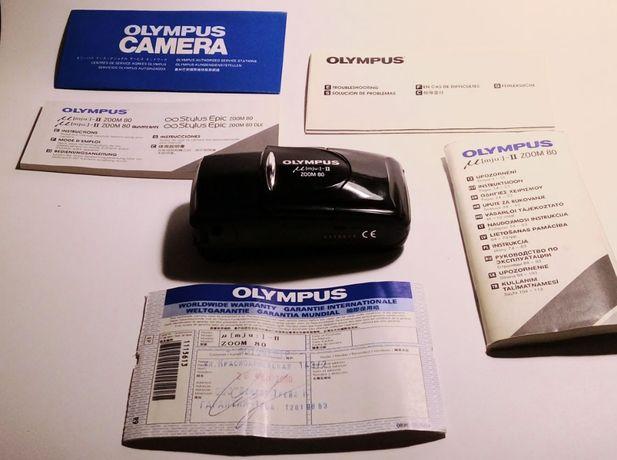 Olympus Mju-II Zoom 80 / 38-80mm (черный)