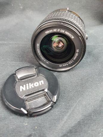 Obiektyw nikon AF-P DX 18-55mm F/3,5-5,6G