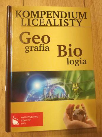 Kompendium licealisty Geografia Biologia, Wiedza o społecz. i Historia