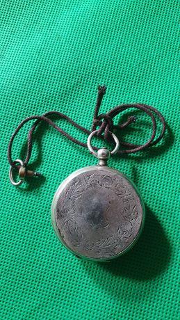 Карманные часы Швейцария tobias ключевка 15 rubin серебро 875 1880