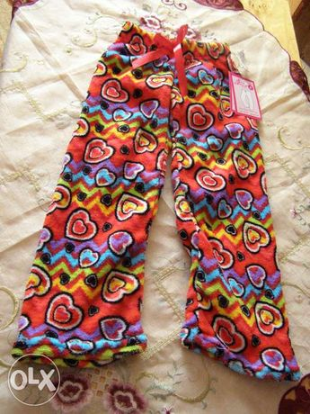 Spodnie -piżamki dla dziewczynki