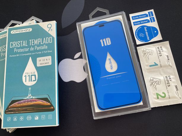  Películas 11D Full p/ iPhone 11Pro, 11Pro Max, 12, 12Pro e 12Pro Max