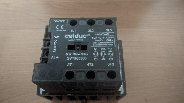 Przekaźnik półprzewodnikowy trójfazowy 24-600V AC 50 amperów