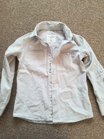 Koszula chłopięca szara, rozmiar 110, reserved