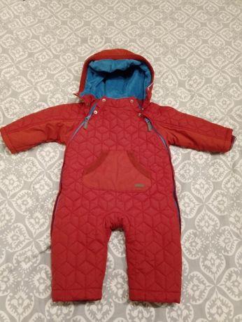 Kombinezon niemowlęcy dla chłopca zima jesień debenhams 9-12 mcy 80