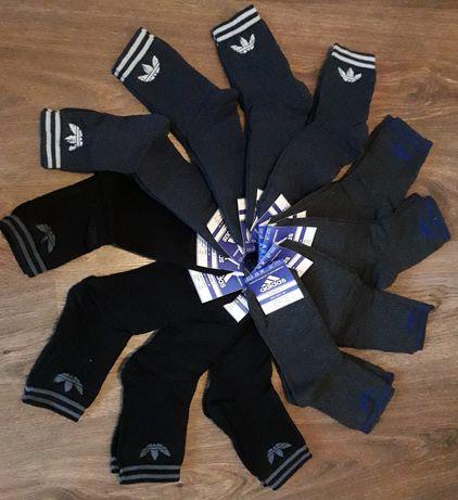 Мужские махровые носки Adidas