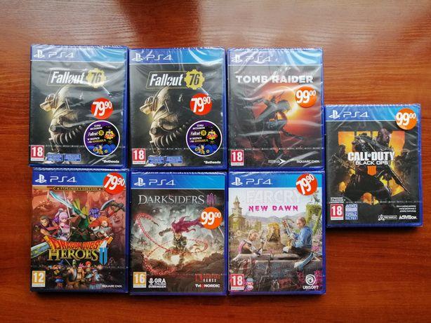 Nowe Gry na konsole PS4 po 45zl.