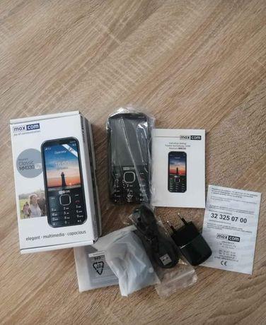 Maxcom MM330 3G NOWY dla seniora Gwarancja