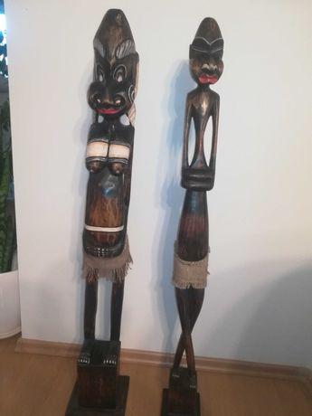Figurki drewniane