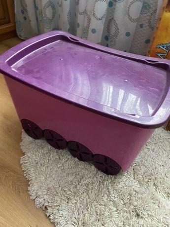 Коробка/ящик для игрушек бу