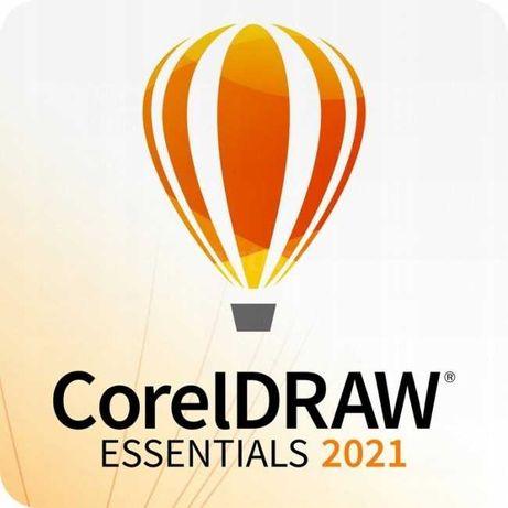 CorelDRAW Essentials 2021 (64-Bit) Licencja Wieczysta
