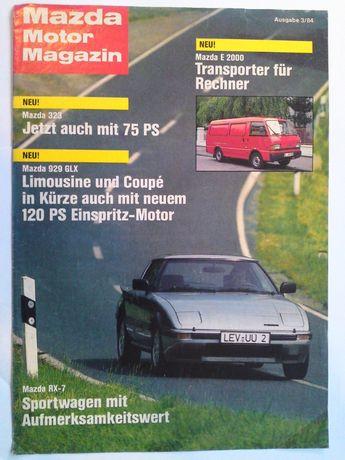 Mazda Motor Magazin 3/84