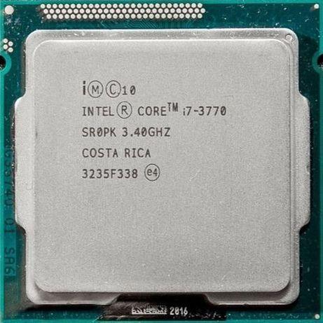 Процессор I7 3770 3.4GHz 8Mb Intel Core 1155 SR0PK | Гарантия 1 Год