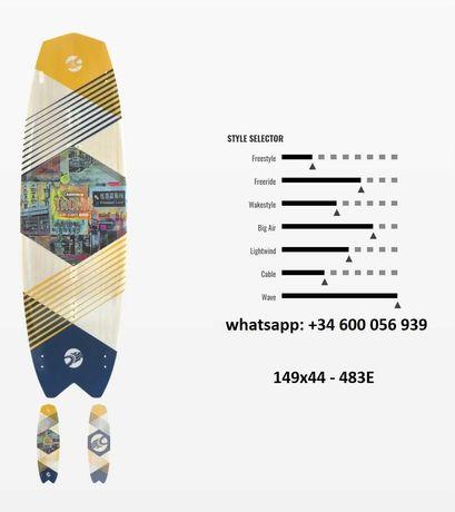2021 cabrinha tronic ss surf stance
