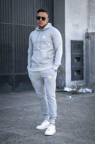 Conjunto fato de treino e calças de ganga (sinners, siksilk, gianni)