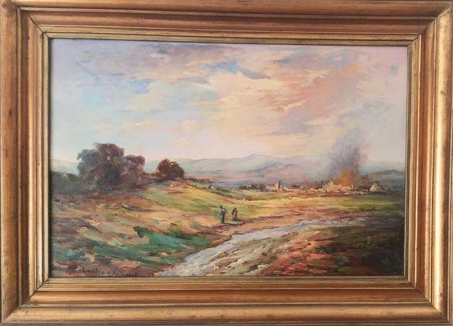 Quadro a óleo, LUCÍLIA DE BRITO, 1984