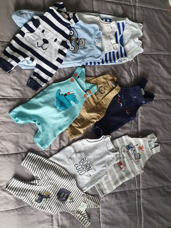 Ubranka dla niemowląt - KOMPLET rozmiar 56