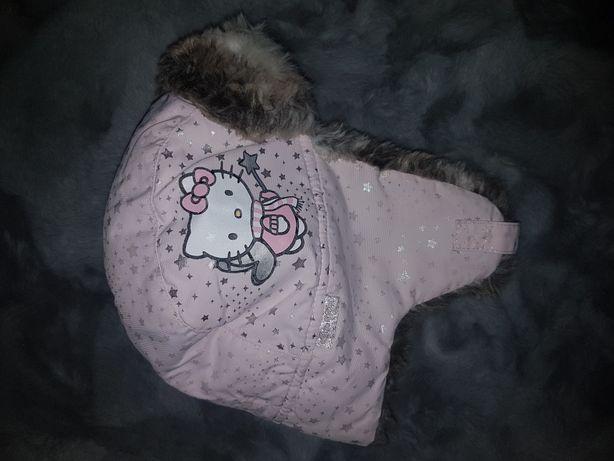 Czapka zimowa hello kitty H&M 110/128