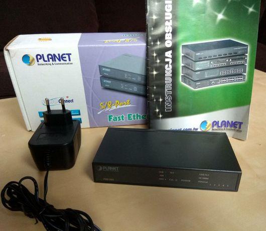 Ethernet Switch Przełącznik Sieciowy Planet FSD-503 10/100 Mbit/s SOHO