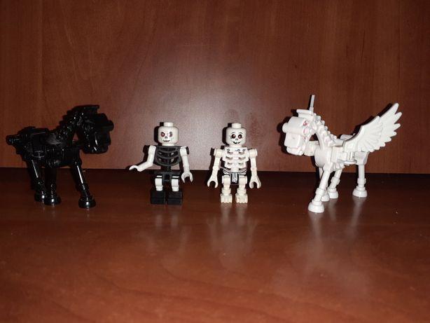 2 figurki i 2 konie z lego