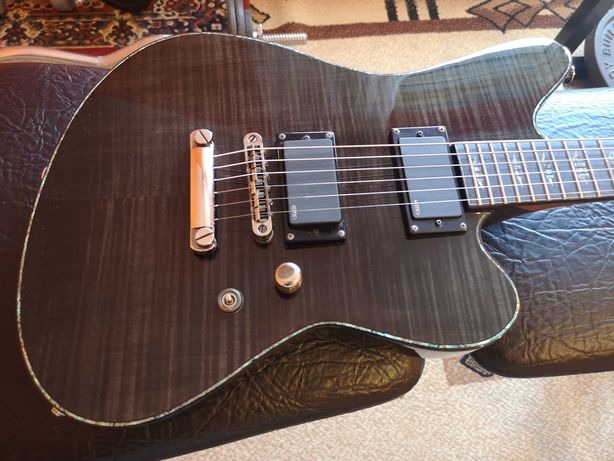 Gitara Elektryczna Charvel Desolation Skatecaster SK-1 ST Trans Black
